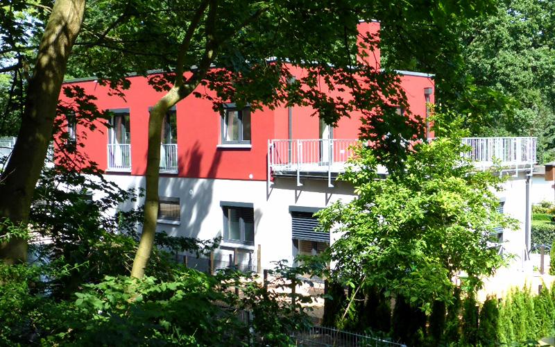 Energetische sanierung vom restaurant zum 2 familienhaus for Familienhaus berlin